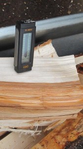 moisture content in wood