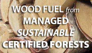 Firewood from Sustainably Managed Forests
