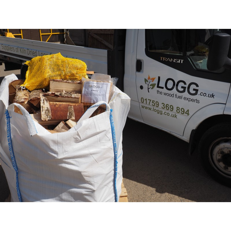 Bulk Bag Logs for sale