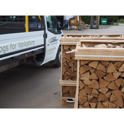 Multi Buy Deal 1.17 Crate Kiln Dried Silver Birch Logs