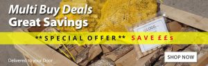 Multi Buy Special Offer Deals on Kiln Dried logs and firewood york