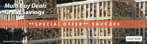 Multi buy kiln dried logs special offers